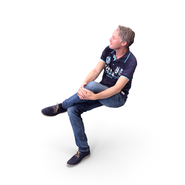 Man Sitting PNG & PSD Images