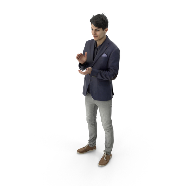 Man Standing Business Casual PNG & PSD Images