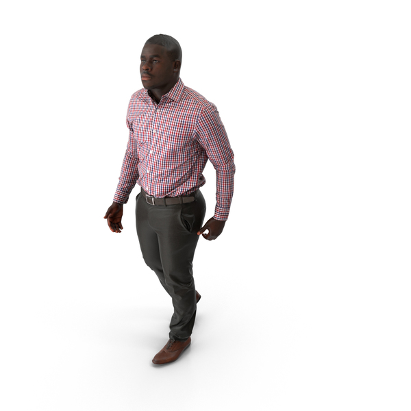 Man Walking Casual PNG & PSD Images
