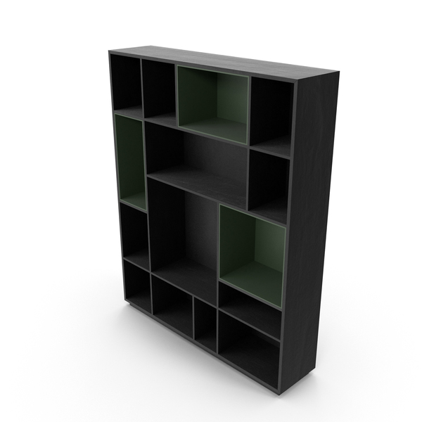 Manaos Bookcase PNG & PSD Images
