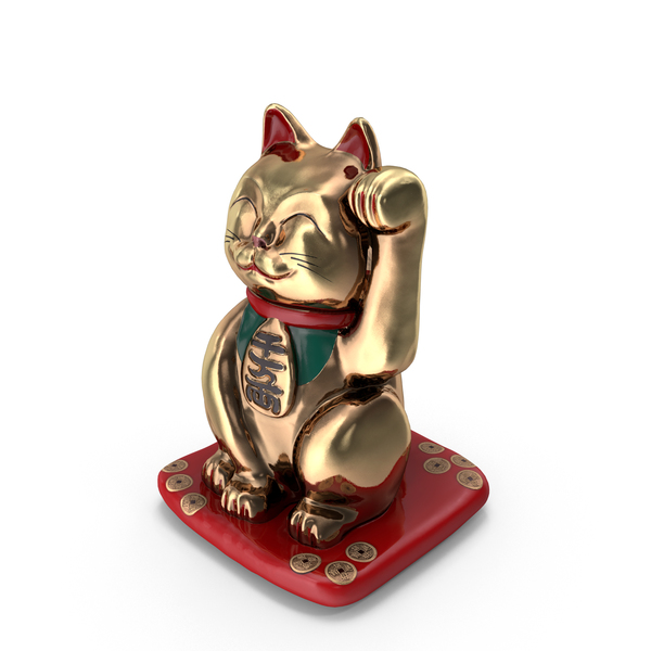 Cat Statue: Maneki PNG & PSD Images