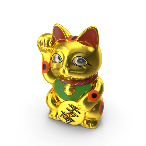 Cat Statue: Maneki Neko PNG & PSD Images
