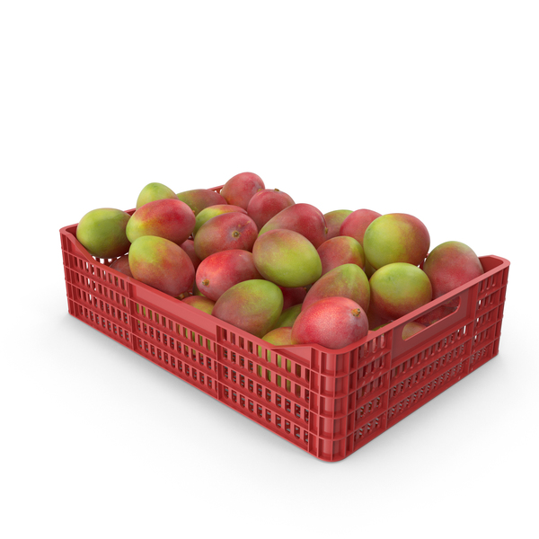 Mango Plastic Crate PNG & PSD Images