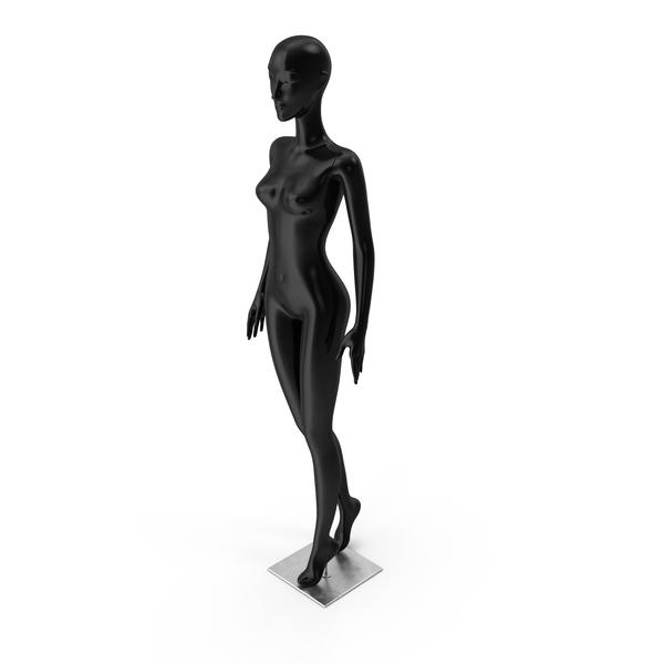 Mannequin Black PNG & PSD Images