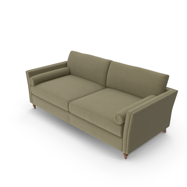 Mantellassi Couture Bramante 3 Seater Sofa PNG & PSD Images