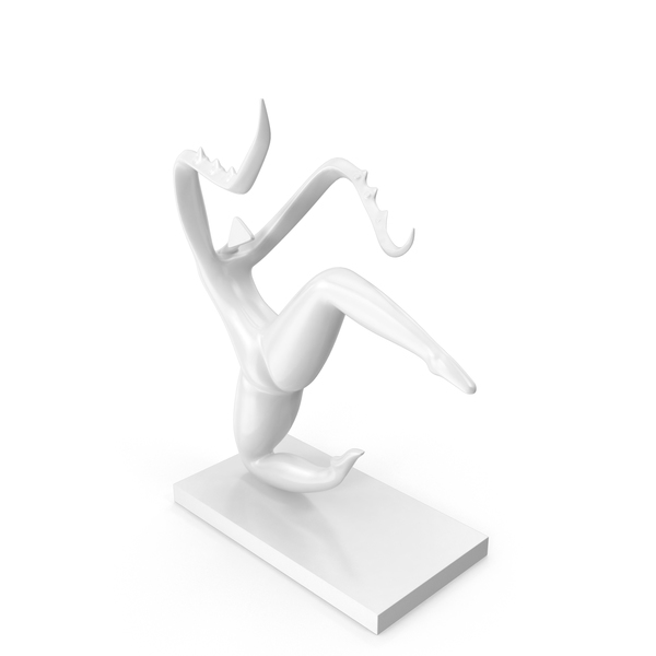 Abstract: Mantis Dance Sculpture PNG & PSD Images