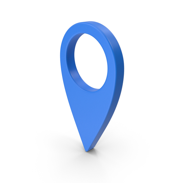 Map Location Sign Blue PNG & PSD Images