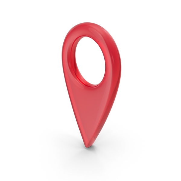 Map Pin Glass PNG & PSD Images