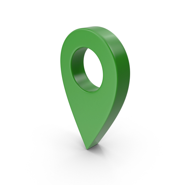 Map Pointer Green PNG & PSD Images