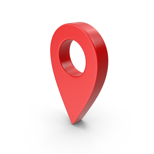 Map Pointer Red PNG & PSD Images