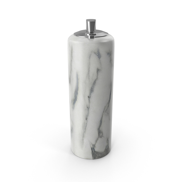Marble Pepper Mill PNG & PSD Images