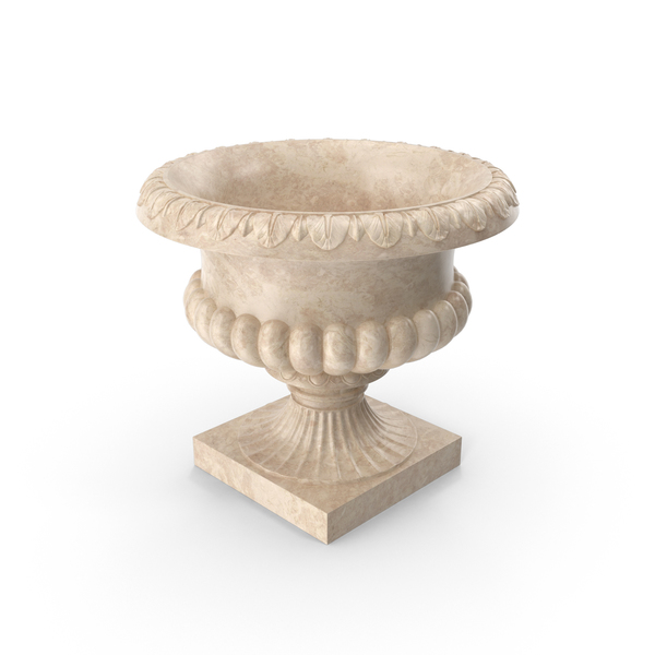 Marble Urn PNG & PSD Images