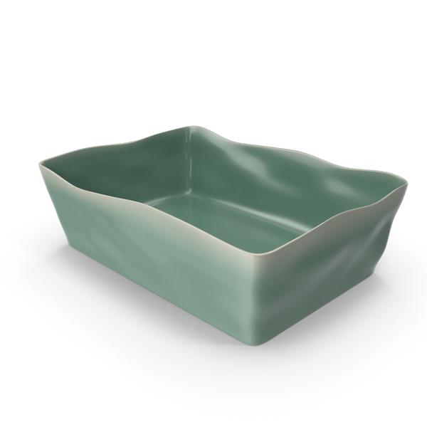 Marin Aqua 12x8.5 Baking Dish PNG & PSD Images