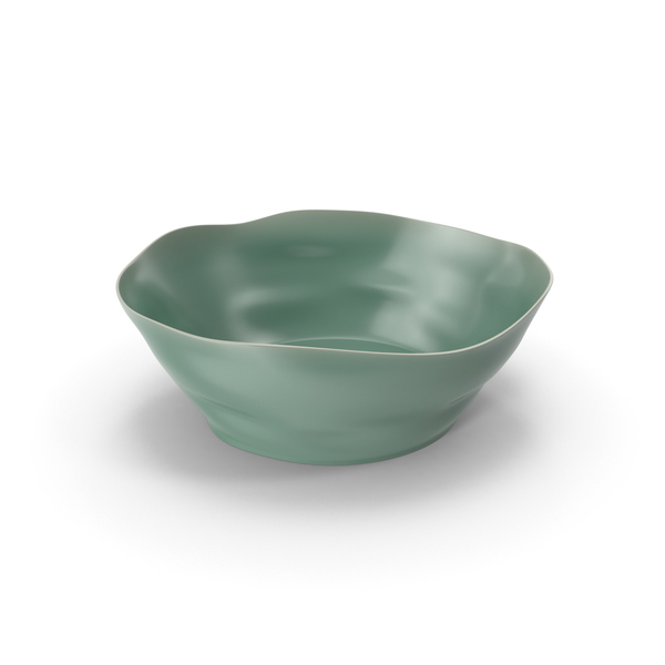 Marin Aqua Large Serving Bowl PNG & PSD Images
