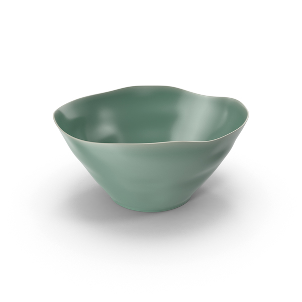 Marin Aqua Serving Bowl PNG & PSD Images