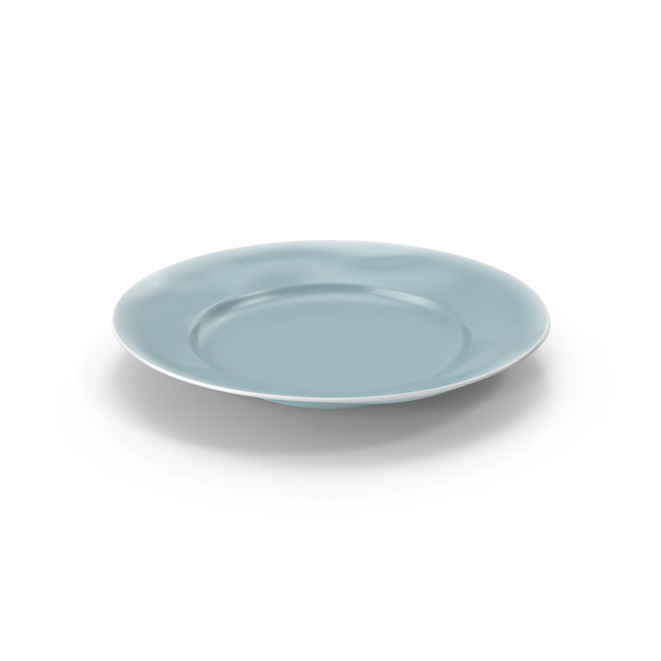 Marin Blue Dinner Plate PNG & PSD Images