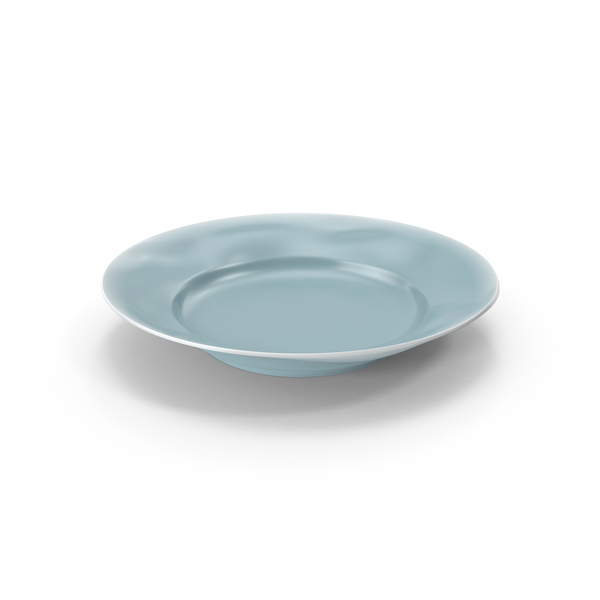 Marin Blue Salad Plate PNG & PSD Images