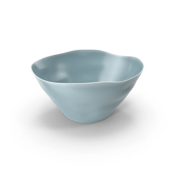 Marin Blue Small Serving Bowl PNG & PSD Images