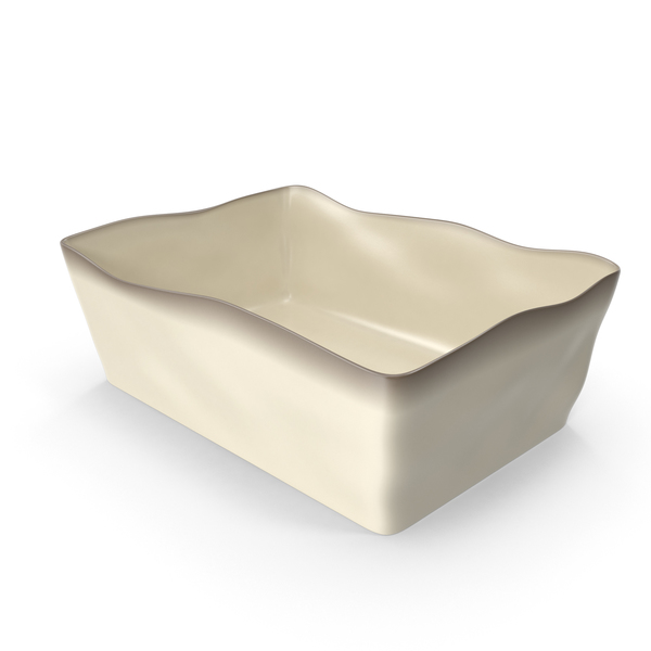 Marin Cream 10x7 Baking Dish PNG & PSD Images