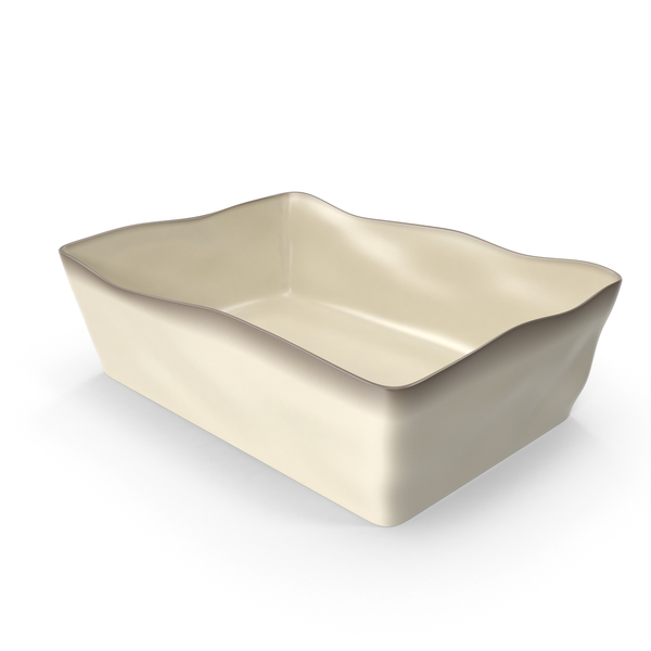 Marin Cream 12x8 Baking Dish PNG & PSD Images
