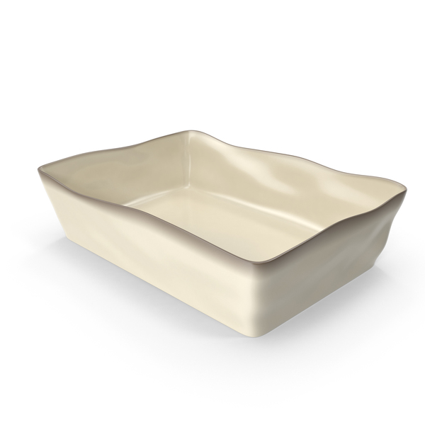 Marin Cream 5x10 Baking Dish PNG & PSD Images
