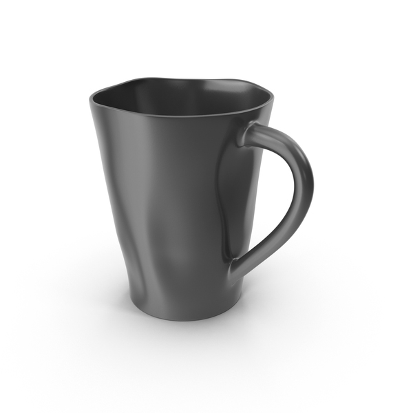 Marin Dark Grey Mug PNG & PSD Images
