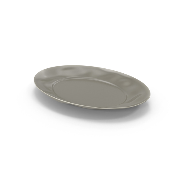 Marin Grey Serving Platter PNG & PSD Images