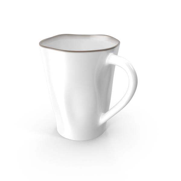 Marin White Mug PNG & PSD Images