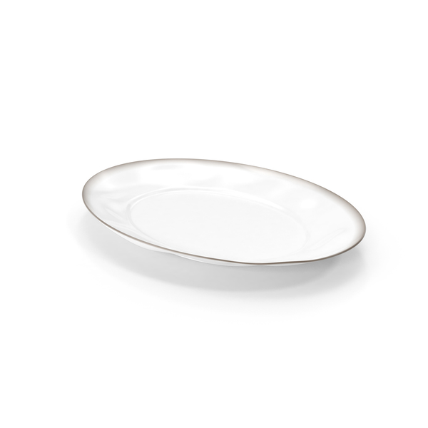 Marin White Serving Platter PNG & PSD Images