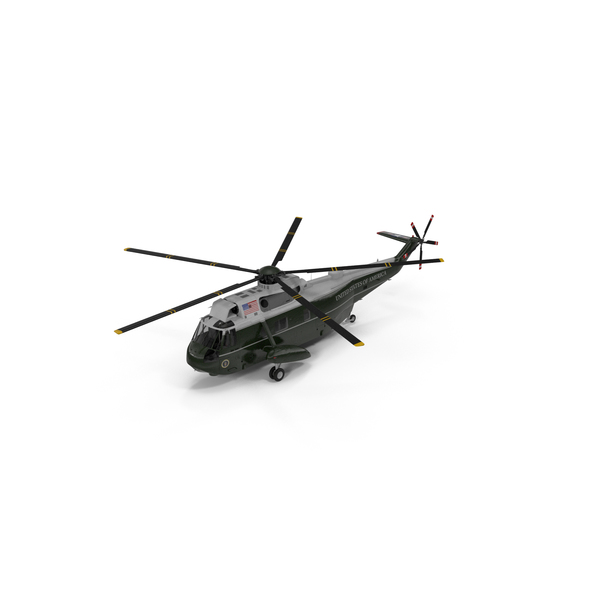 Hellicopter: Marine One Helicopter Carrying the US President PNG & PSD Images
