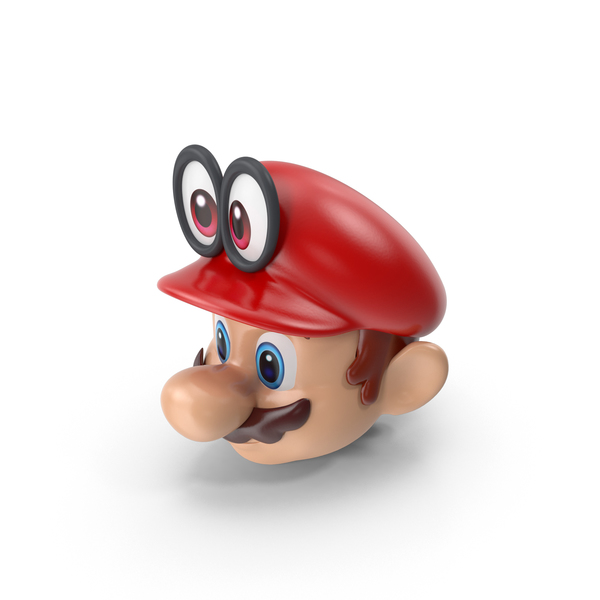Mario Bros Head Odyssey PNG & PSD Images