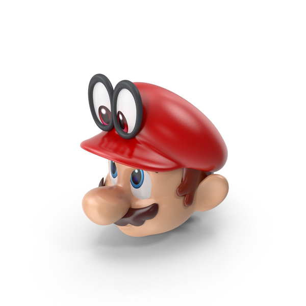 Game Character: Mario Bros Head Odyssey PNG & PSD Images