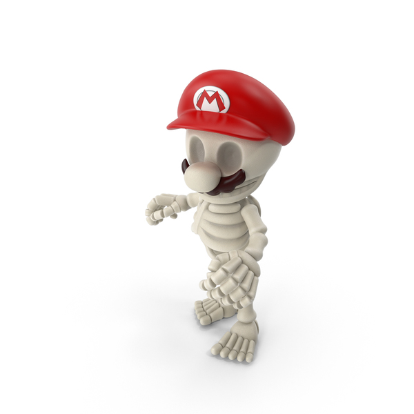 Mario Bros Skeleton PNG & PSD Images