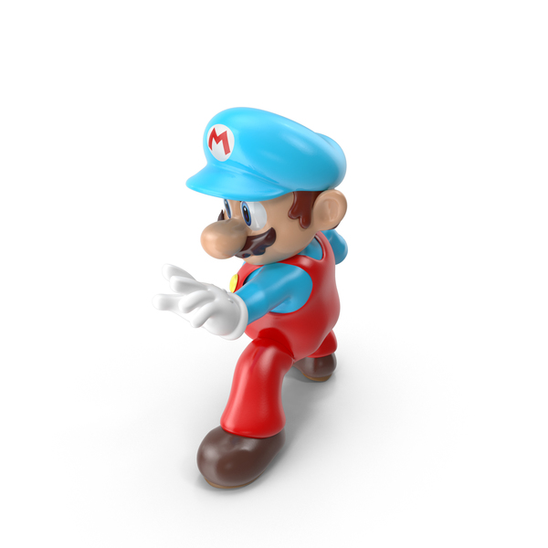Game Character: Mario Ice Costume PNG & PSD Images
