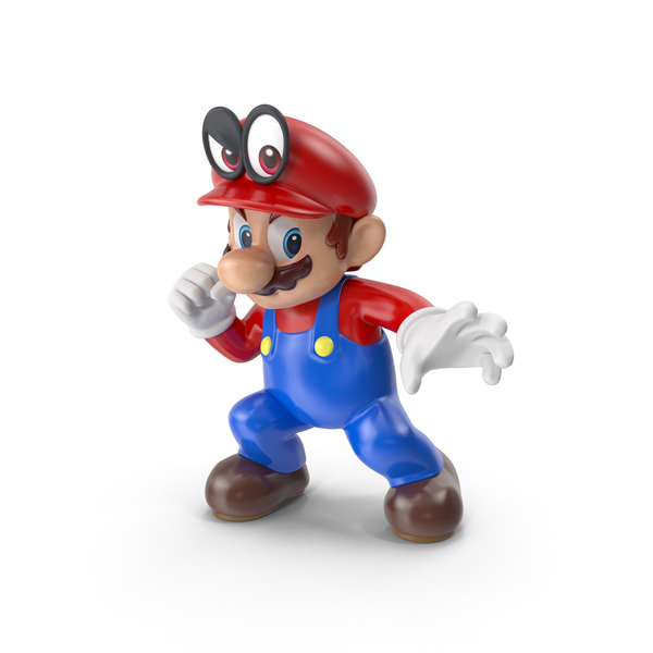Mario With Cappy PNG & PSD Images
