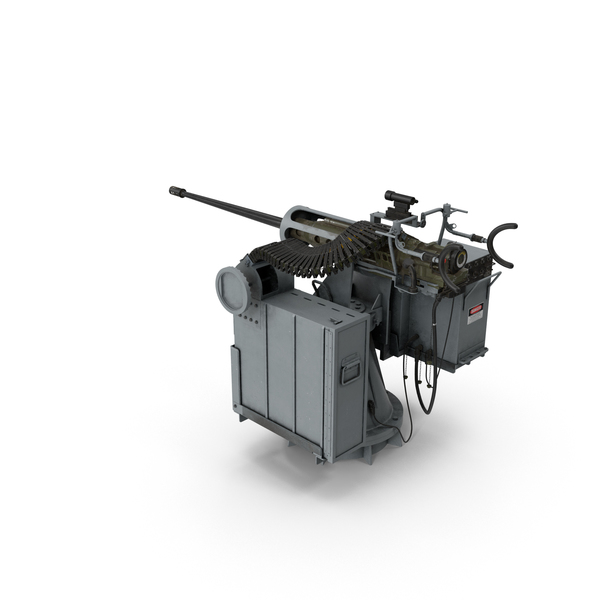 Gun: Mark 38 MGS Turret PNG & PSD Images