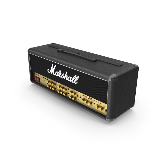 Amplifier: Marshall Amp PNG & PSD Images