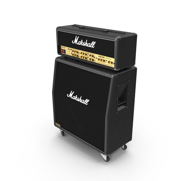 Marshall Amp and Speaker PNG & PSD Images