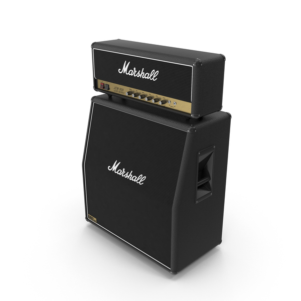 Speaker: Marshall JCM 800 Stack PNG & PSD Images