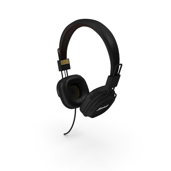 Marshall Major Headphones PNG & PSD Images