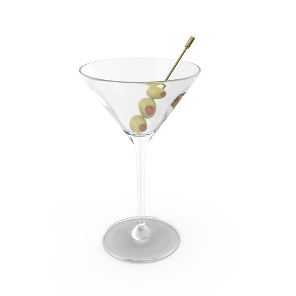 Martini Cocktail Object