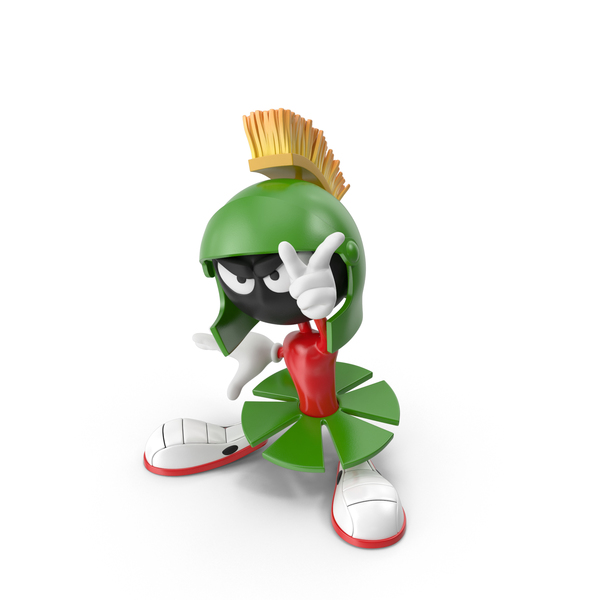 Alien: Marvin Martian PNG & PSD Images