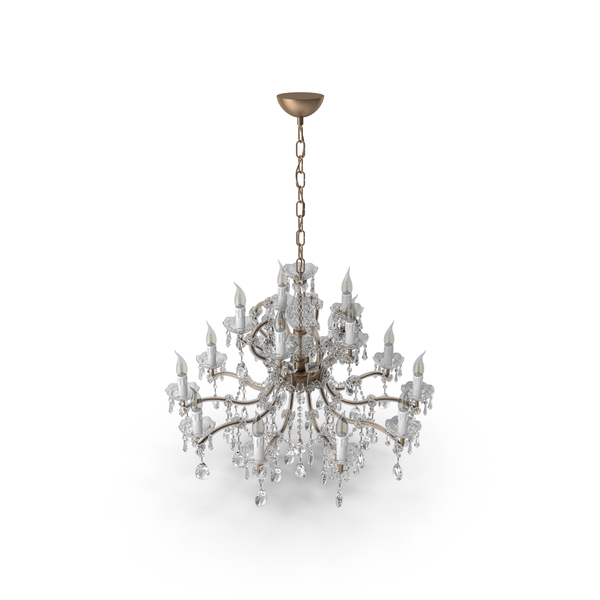 Masiero Crystal Chandelier PNG & PSD Images