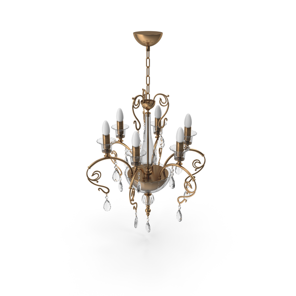 Masiero Curli 6 Chandelier PNG & PSD Images