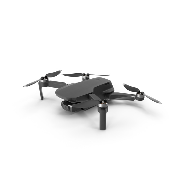 Mavic Mini Black PNG & PSD Images