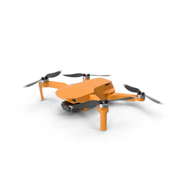 Mavic Mini Orange PNG & PSD Images