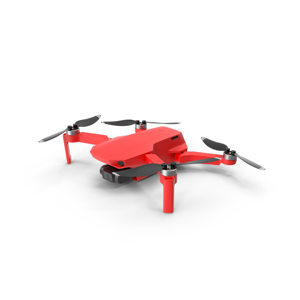 Mavic Mini Red PNG & PSD Images