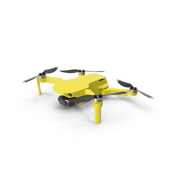 Mavic Mini Yellow PNG & PSD Images