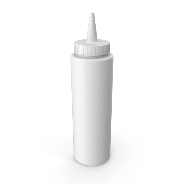 Condiment Dispenser: Mayonnaise Bottle PNG & PSD Images