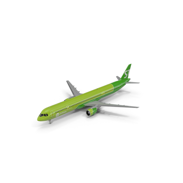 Airliner: MC 21 S7 Airlines PNG & PSD Images
